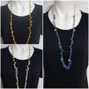 Loft beaded necklaces
